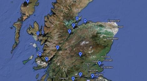 Der Probelauf in Schottland