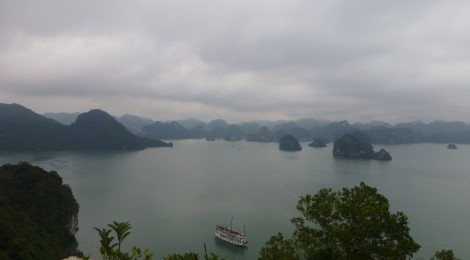Halong Bay- Backpacking de luxe