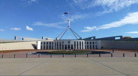 Canberra - Planhauptstadt Australiens